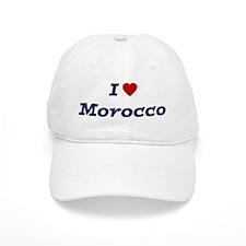 I HEART MOROCCO Baseball Cap