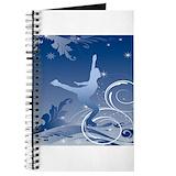 Ice skate Journals & Spiral Notebooks