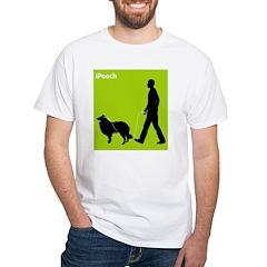 Rough Collie White T-Shirt