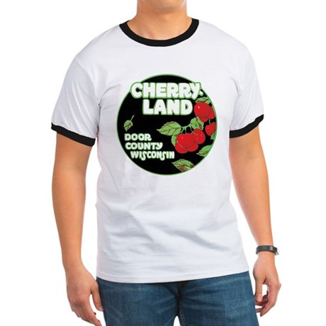 Wisconsin Cherry Land (Front) Ringer T