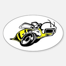 SUPER BEE 2 Oval Decal