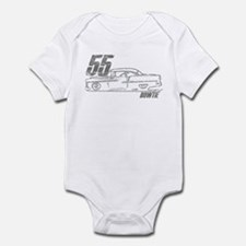 '55 Bowtie Distressed Infant Bodysuit