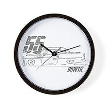 '55 Bowtie Distressed Wall Clock