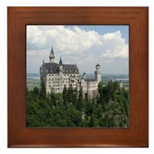 Neuschwanstein Castle Framed Tile
