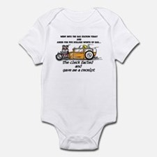Fart Receipt Infant Bodysuit