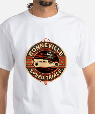 BONNEVILLE SALT FLAT TRIBUTE White T-Shirt