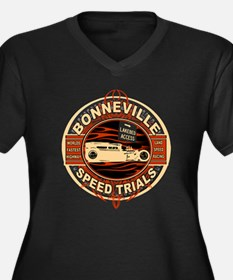 BONNEVILLE SALT FLAT TRIBUTE Women's Plus Size V-