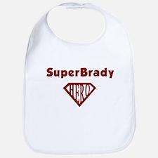 Super Hero Brady Bib