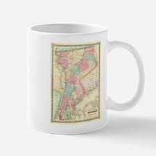 Vintage Map of Westchester New York (1864) Mugs