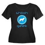 Shiloh Shepherd Women's Plus Size Scoop Neck Dark