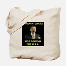NOT BORN HERE! Tote Bag