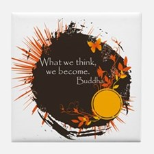 Buddha Quote Tile Coaster