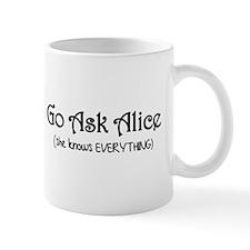 Go Ask Alice Twilight Small Small Mug
