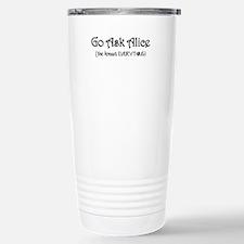 Go Ask Alice Twilight Stainless Steel Travel Mug