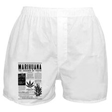 MARIHUANA: The Assassin of Youth Boxer Shorts