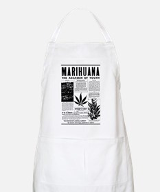 MARIHUANA: The Assassin of Youth BBQ Apron