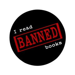 """Banned Books 3.5"""" Button (100 pack)"""