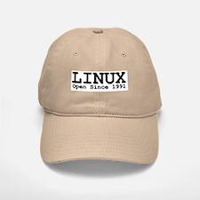 Open Linux Baseball Baseball Cap