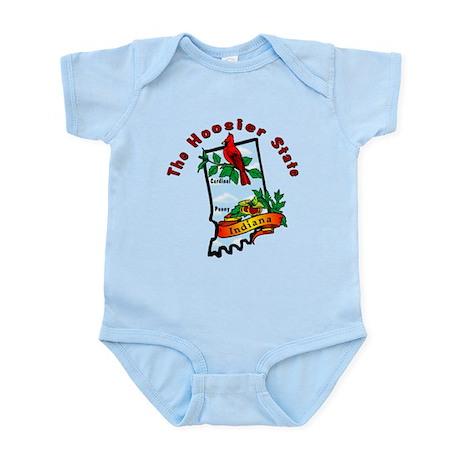 """Indiana Pride"" Infant Bodysuit"
