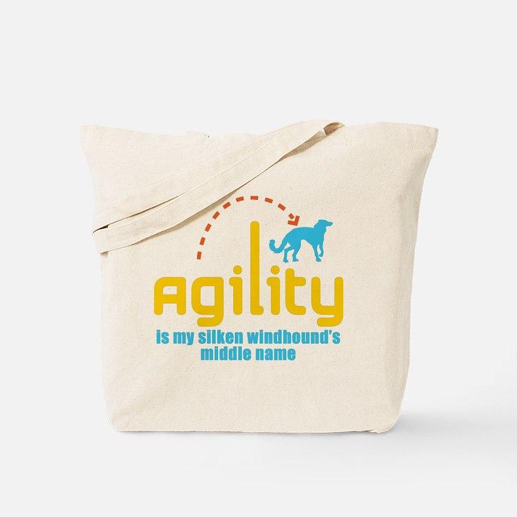Silken Windhound Tote Bag