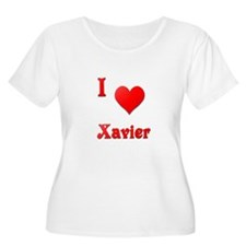I Love Xavier #21 T-Shirt