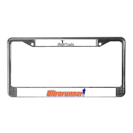 iRunTrails License Plate Frame