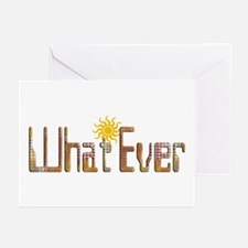 What Ever Greeting Cards (Pk of 10)