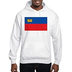 Liechtenstein Flag Hoodie