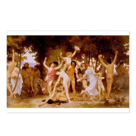 Youth of Bacchus Postcards (Package of 8)