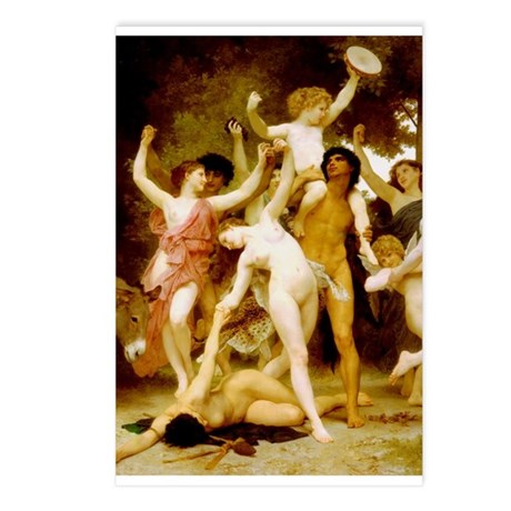 Panel - Youth of Bacchus Postcards (Package of 8)