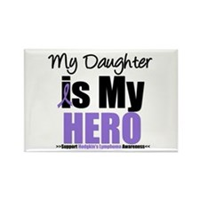 My Daughter is My Hero (HL) Rectangle Magnet