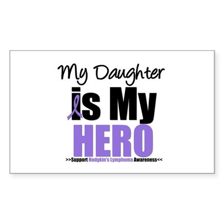 My Daughter is My Hero (HL) Rectangle Sticker 10