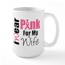 I Wear Pink (Wife) Mug