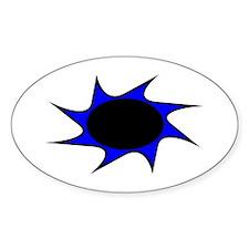 Eyelashes Eyeball Oval Decal