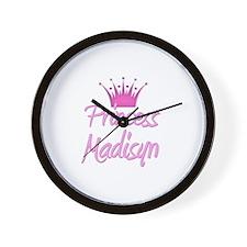 Princess Madisyn Wall Clock