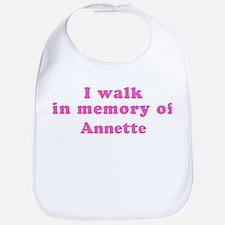 Walk in memory of Annette Bib