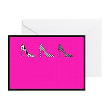 Heels Greeting Cards (Pk of 10)