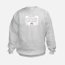*Child via Surrogacy* Sweatshirt