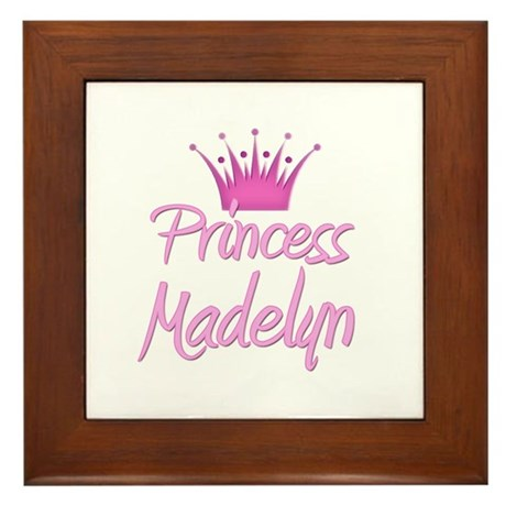Princess Madelyn Framed Tile