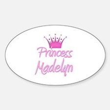 Princess Madelyn Oval Decal