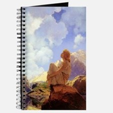"Maxfield Parrish ""Morning"" Journal"