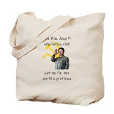 Cute North korea propaganda Tote Bag