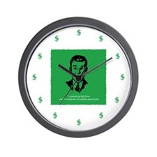 Bailed Out! Small Wall Clock