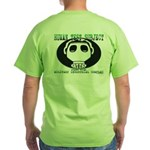 Gas Mask Green T-Shirt