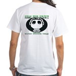 Gas Mask White T-Shirt