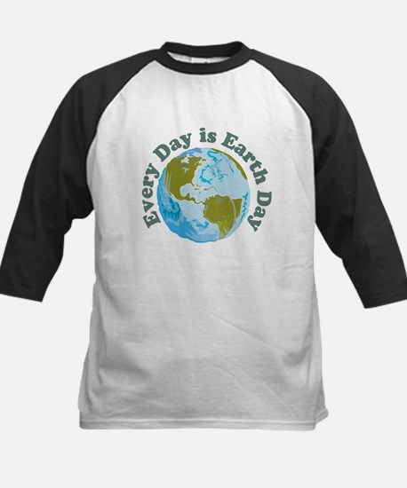 Earth_Button Baseball Jersey