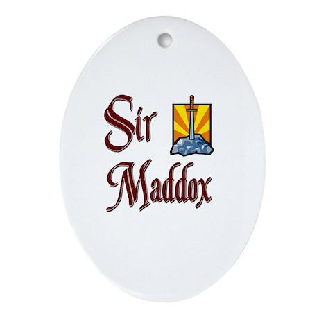 Sir Maddox Oval Ornament