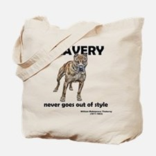 Bravery Qoute Tote Bag