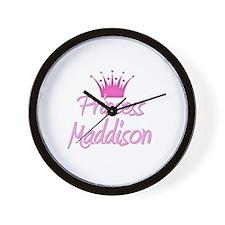 Princess Maddison Wall Clock
