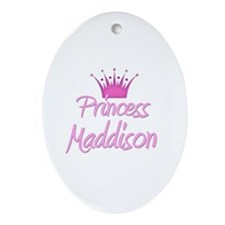 Princess Maddison Oval Ornament